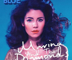 marina and the diamonds, blue, and froot image