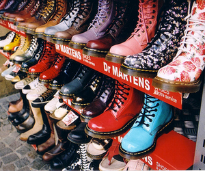 shoes, boots, and dr martens image