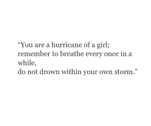 quote and hurricane image
