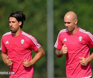 Juventus, simone zaza, and sami khedira image