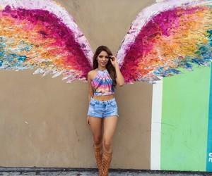 angel, fashion, and graffiti image