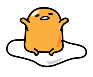 gudetama, egg, and kawaii image