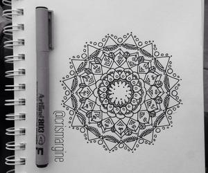 arte, mandala, and tatoo image
