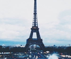 paris, beautiful, and travel image