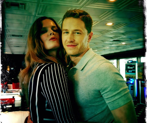 once upon a time, rebecca mader, and josh dallas image