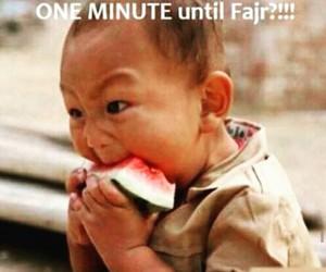 Ramadan, funny, and fajr image