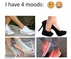 shoes, mood, and heels image