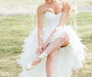wedding, ballet, and white image