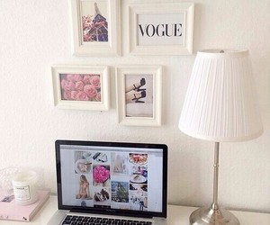 room, vogue, and bedroom image