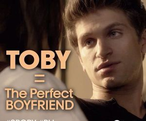 toby, pll, and pretty little liars image