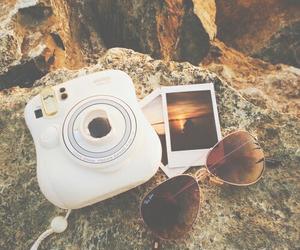 beach, summer, and camera image
