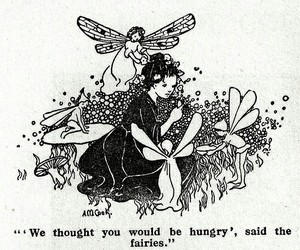 book, fairy, and illustration image