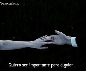 triste, importante, and frases en español image