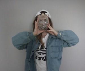 grunge, girl, and adidas image