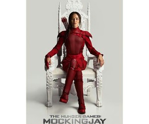 the hunger games, mockingjay, and movie image