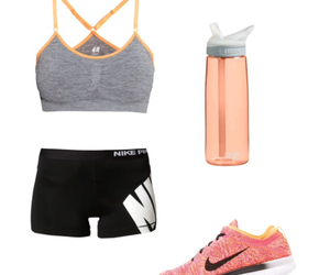 nike, fitness, and running image