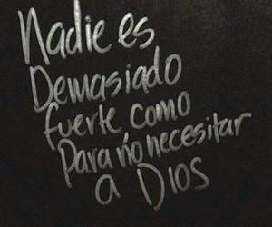 god, frases, and español image