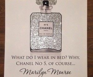 Marilyn Monroe, chanel, and quote image