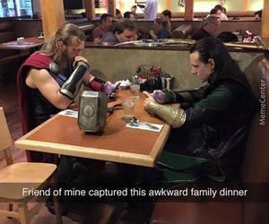 thor, Avengers, and loki image