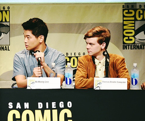 cast, the maze runner, and tmr image