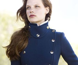 brunette, fashion, and military image