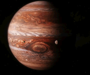 jupiter, space, and nature image