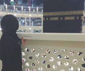 islam, mekka, and muslima image