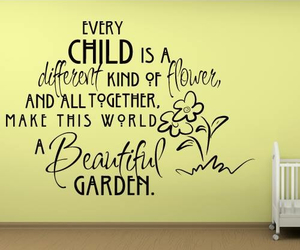 child, beautiful, and flower image