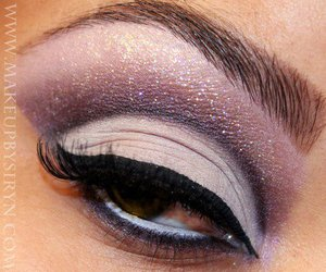 make up, beautiful, and eyes image