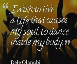 body, dance, and life image
