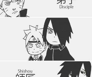 manga, naruto, and sasuke image