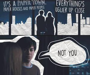 paper towns, book, and cara delevingne image