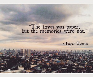 paper towns and paper towns art image
