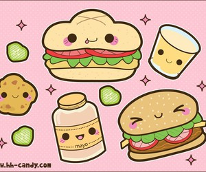 kawaii and food image