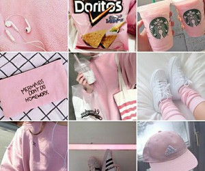 pink, instagram, and feed goals image