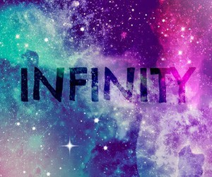 infinity, galaxy, and space image