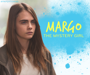 paper towns, MARGO, and cara delevingne image