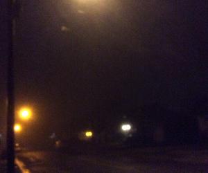 fog, light, and night image
