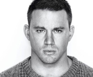 channing tatum, black and white, and Hot image