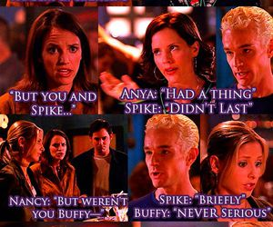buffy the vampire slayer and little buffy things image