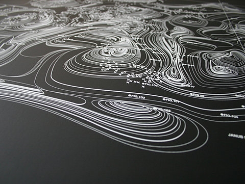 topography image