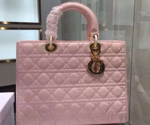 designer, dior, and pink handbags image
