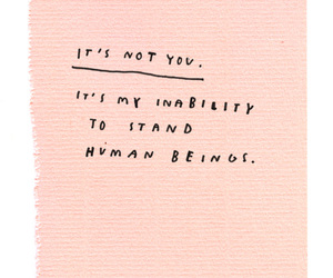 quote, pink, and life image