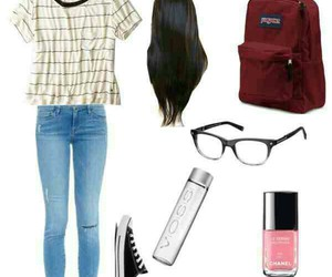 converse, school, and outfit image