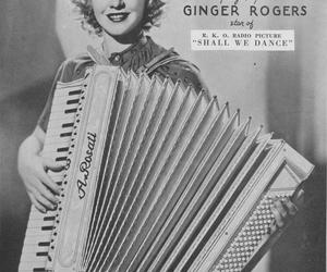 accordion and ginger rogers image