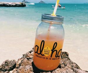 summer, beach, and Aloha image