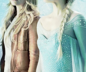 emma, frozen, and once upon a time image