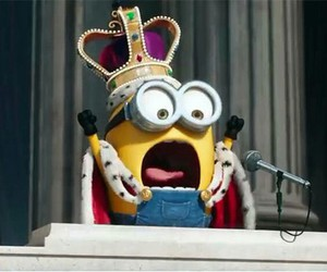 minions, king, and cute image