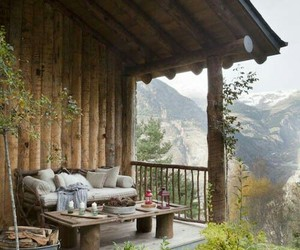 home, mountains, and nature image