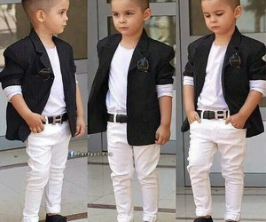 baby, fashion, and boy image